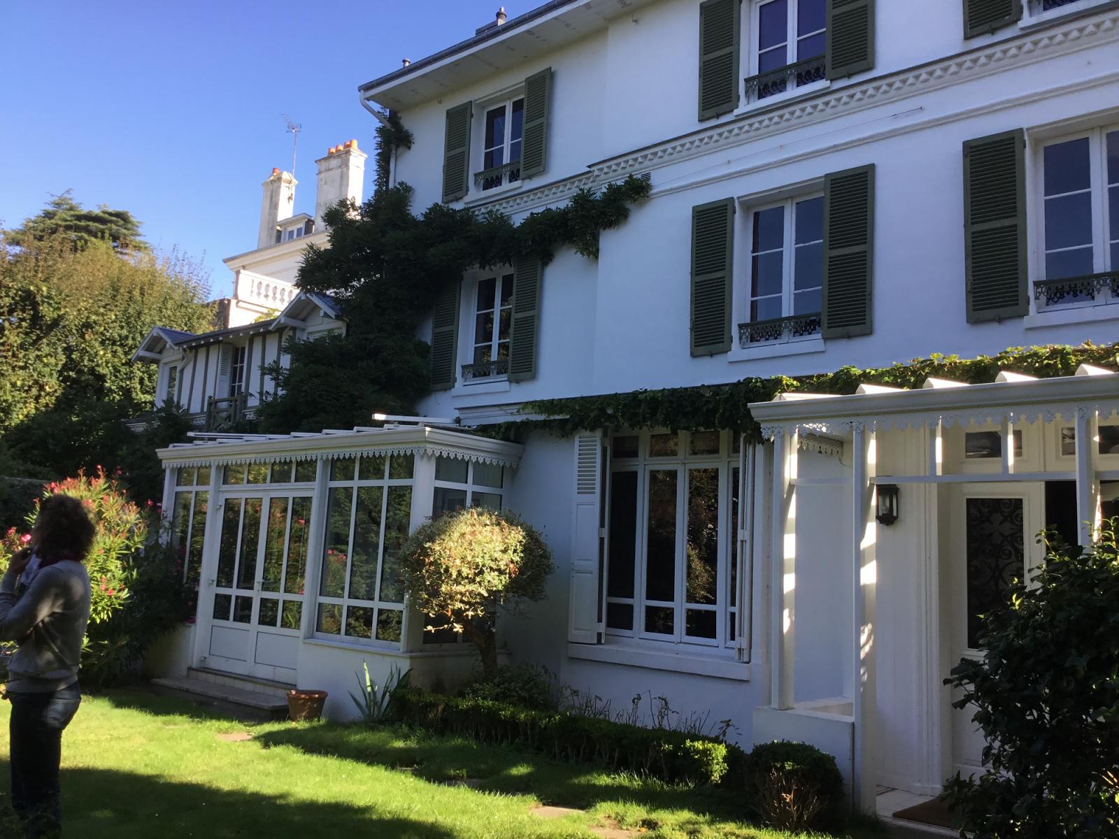 Facades De Maisons En Couleurs rénover la façade d'une maison à saint adresse 76
